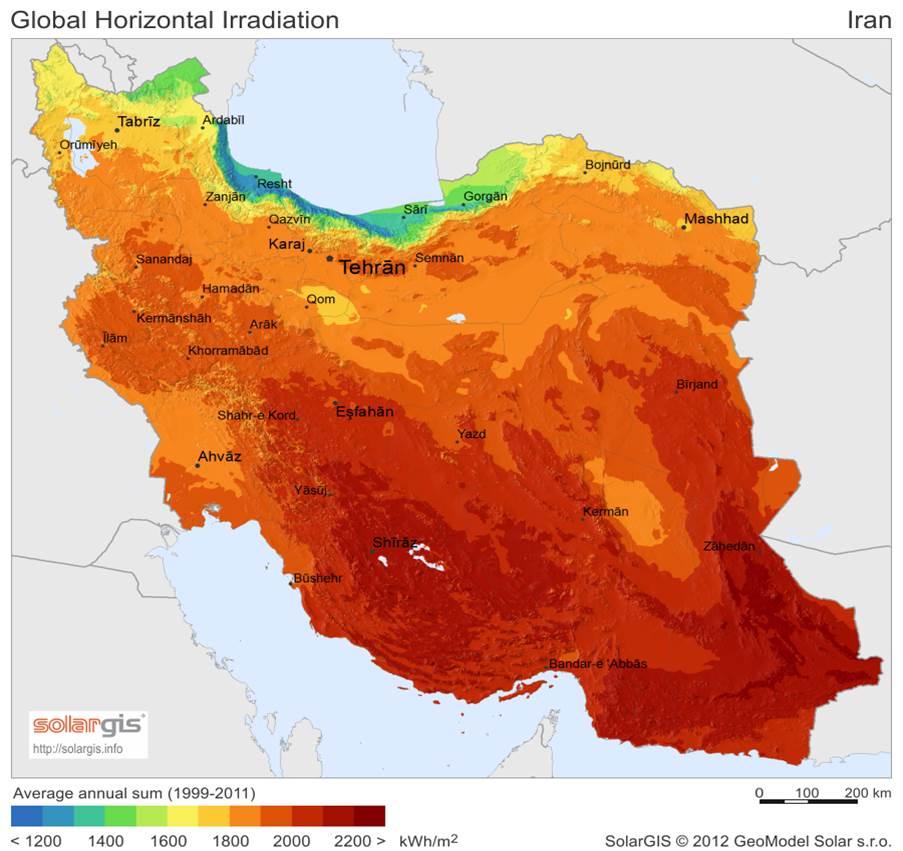 invest solar plant in iran